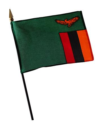 Zambia's flag. Its meaning: